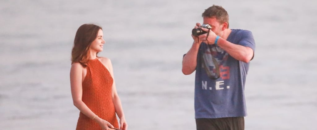 Ben Affleck and Ana de Armas on the Beach in Costa Rica