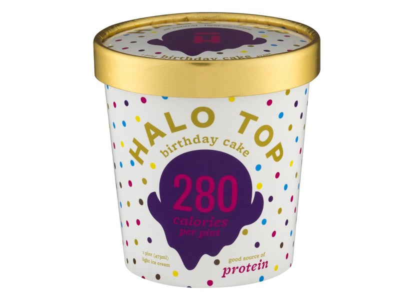 Halo Top Creamery Birthday Cake ($6)