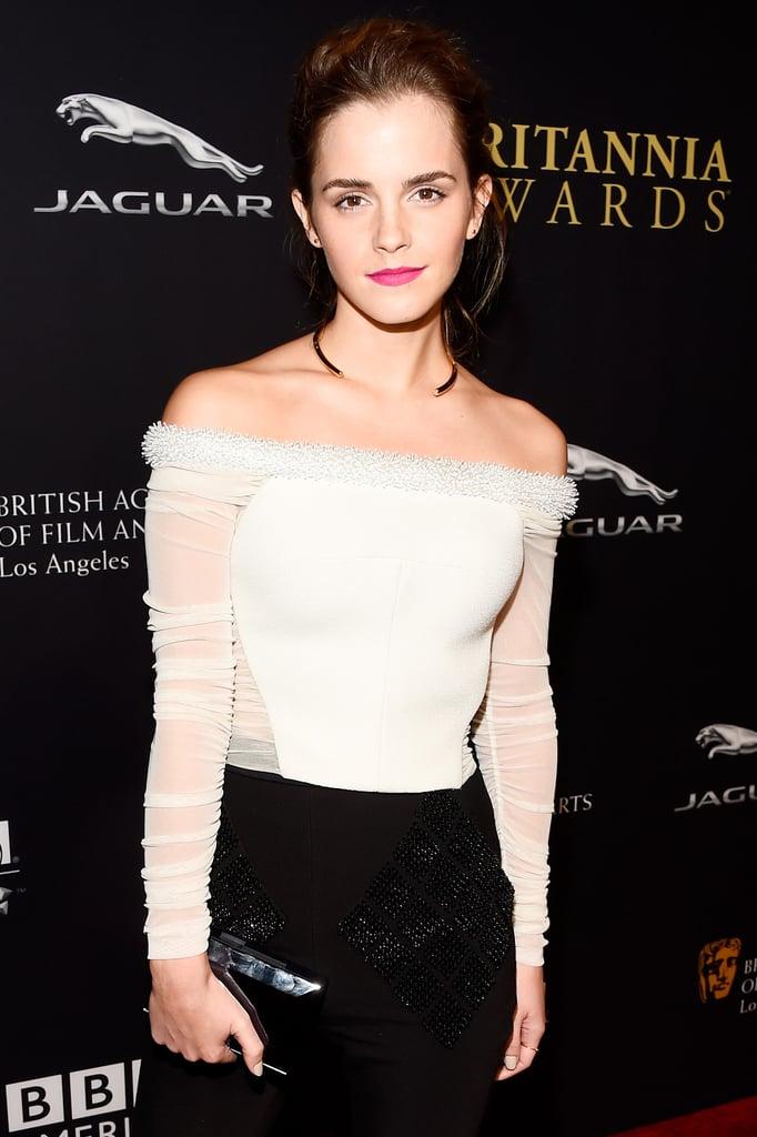 Emma Watson Steals the Spotlight at the BAFTA Awards, Obviously