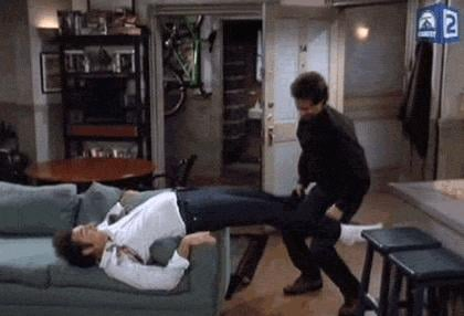 When Kramer's Tight Jeans Are Waaay Too Tight
