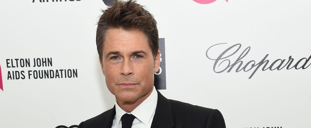 Hold Up: Rob Lowe's Son Is Extremely Good-Looking