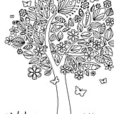 Get the coloring page: Tree