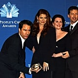 Eric McCormack, Debra Messing, Megan Mullally, and Sean Hayes; 2005 People's Choice Awards