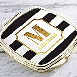 Personalized Classic Wedding Gold Compact