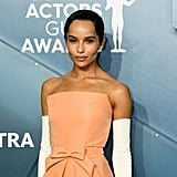 Zoe Kravitz at the 2020 SAG Awards
