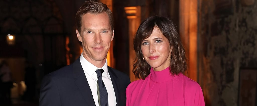 Benedict Cumberbatch and Sophie Hunter Hit the Red Carpet in London