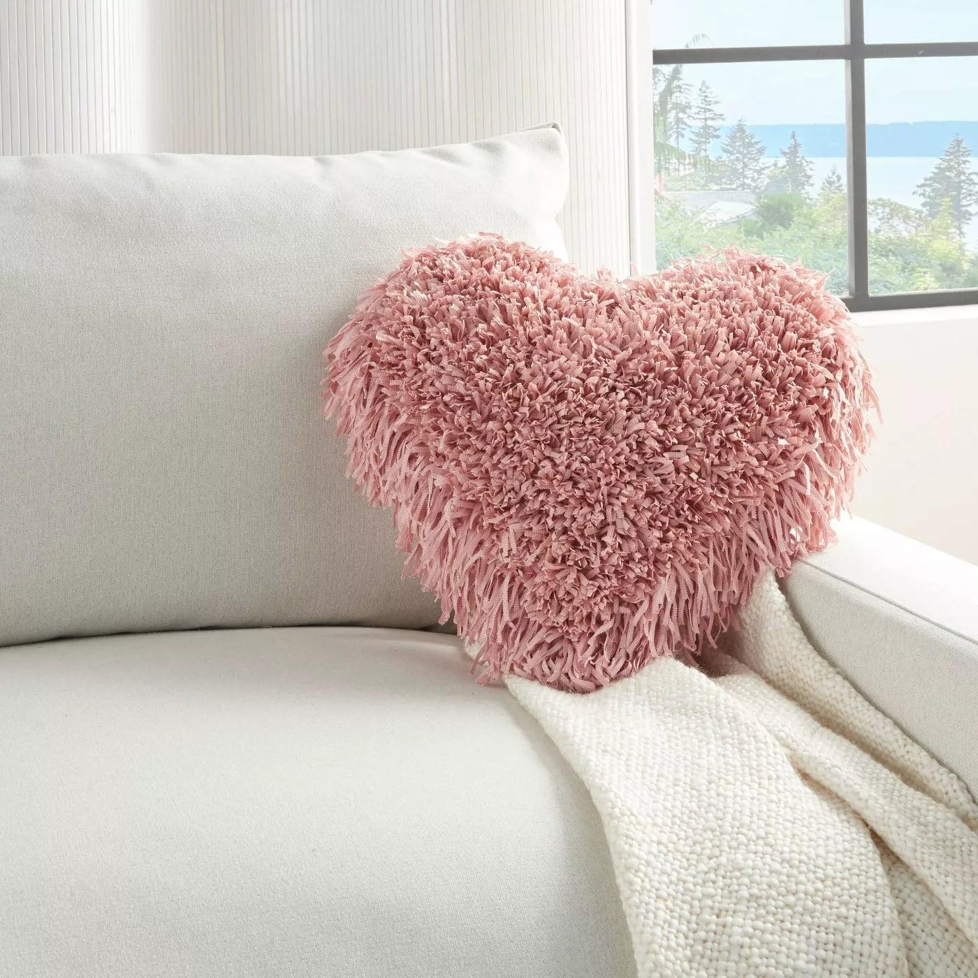 Mina Victory Frame Heart Shag Throw Pillow Shop Target S 2021 Valentine S Day Decorations Popsugar Home Uk Photo 9