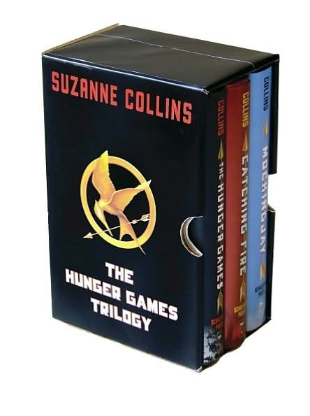The Hunger Games Hardcover Book Boxed Set ($54)