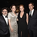 Jeff Richmond, Tina Fey, Amy Schumer, and Chris Fischer