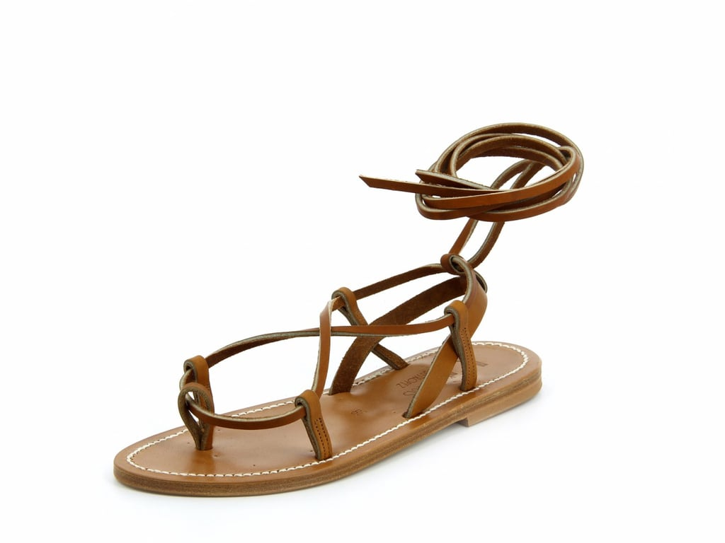 K. Jacques Modene Pul Natural Leather Sandals