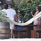 George Clooney and Amal Alamuddin in Mexico