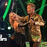 John Schneider and Emma Slater's Performance