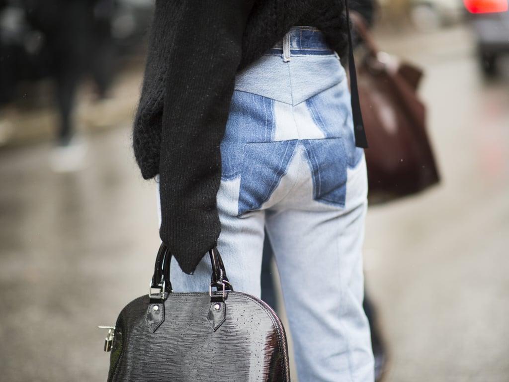 Patchwork Jeans Trend Spring 2016