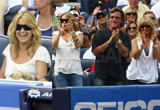 Photos of Kate Hudson at a Baseball Game