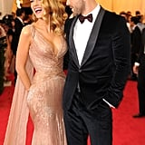 In one of the funniest moments of the night, Ryan couldn't help but steal a glance at his wife's cleavage.