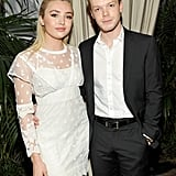 Peyton List and Cameron Monaghan