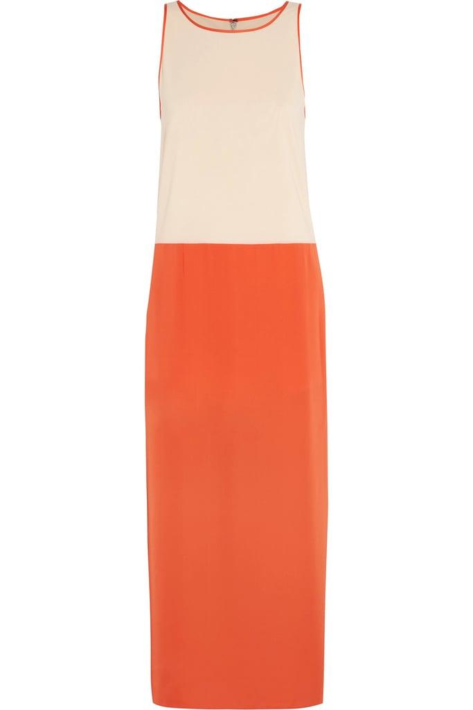 Alice + Olivia Rosy Two-Tone Dress