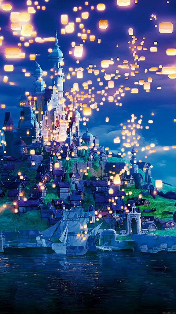 The Castle in Tangled