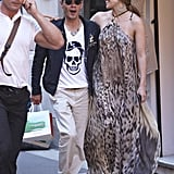 Pictures of Jennifer Lopez and Marc Anthony in Cannes