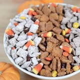 Butterfinger and Reese's Halloween Puppy Chow, Oh My!