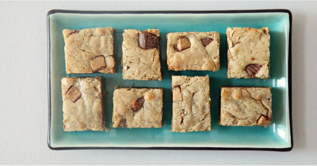 Reese's Peanut Butter Cup Blondies — Enough Said