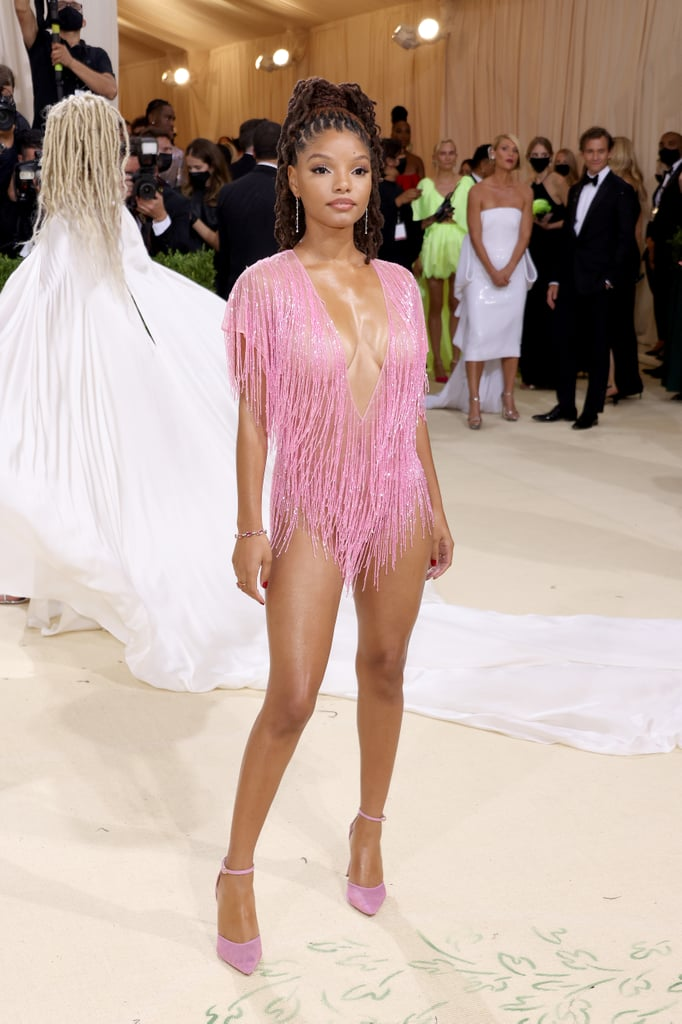 Halle Bailey at the 2021 Met Gala