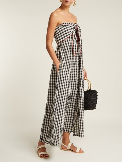 Anaak Gingham-Patterned Cotton Dress ($525)