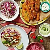 Fried Fish Taco Bar
