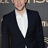 John Krasinski at the Miss Golden Globe Party in 2012