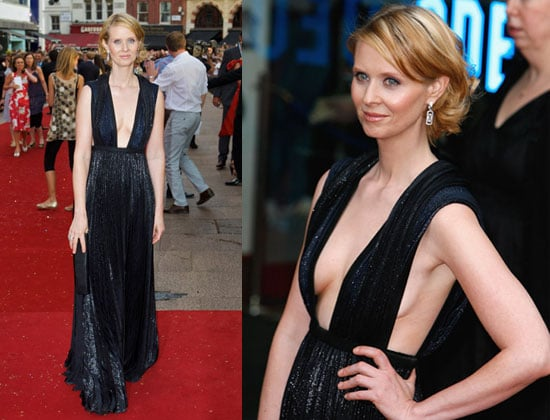 Sex and the City Movie London Premiere: Cynthia Nixon