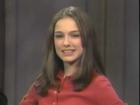 PopSugar Flashback Friday of Black Swan's Natalie Portman on The Late Show