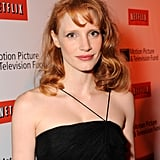 Jessica Chastain With Short Side Bangs in 2010