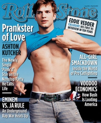 And Ashton Kutcher's