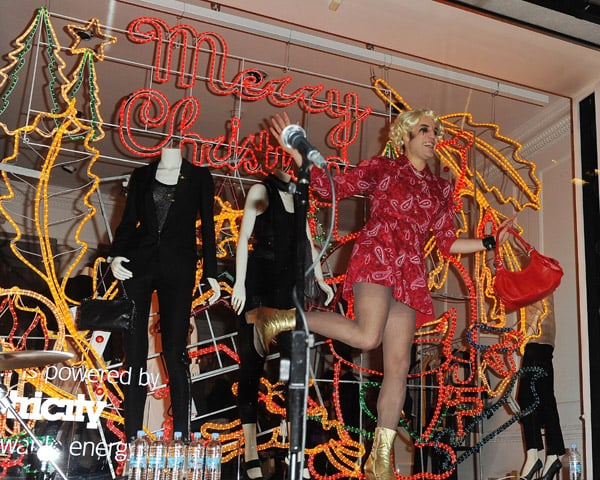 Photos of Celebrities at Stella McCartney Christmas Lights Turn On