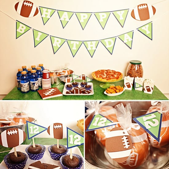 Touchdown Football Birthday Party Package ($52