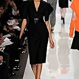 Jourdan Dunn walking Fall 2009 Michael Kors