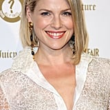 Ali Larter wore a white dress.