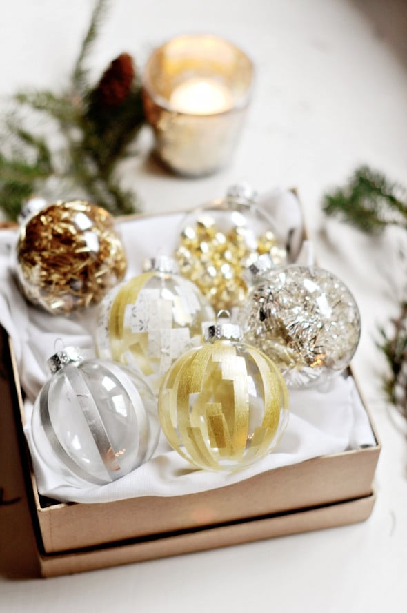 diy christmas ornaments popsugar smart living. Black Bedroom Furniture Sets. Home Design Ideas