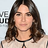Nikki Reed proved that flawless skin, bold brows, and shiny waves make for a timeless look.