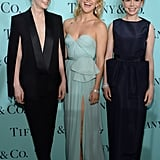 Kate Hudson had a laugh with Carey Mulligan and Michelle Williams at Tiffany & Co.'s ball in NYC.