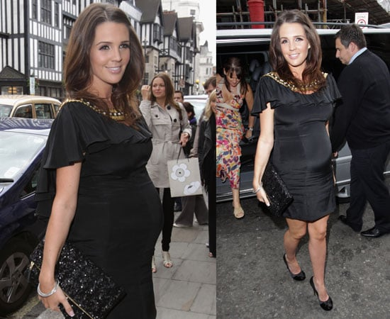Pictures of Danielle Lloyd Pregnant at Baby Shower in London With Nicola T