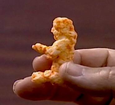 Cheeto Looks Like Jesus