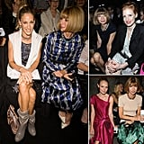 There's no denying that the hottest seat in the house is next to Anna Wintour.