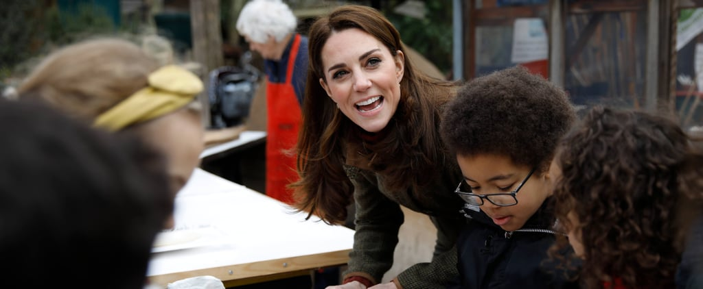 Little Girl Asks Kate Middleton If the Queen Eats Pizza