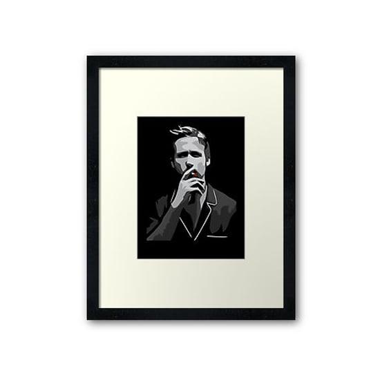 Ryan Gosling Print ($90)