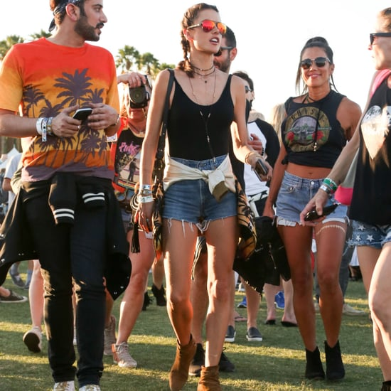 Alessandra Ambrosio's Fashion at Coachella