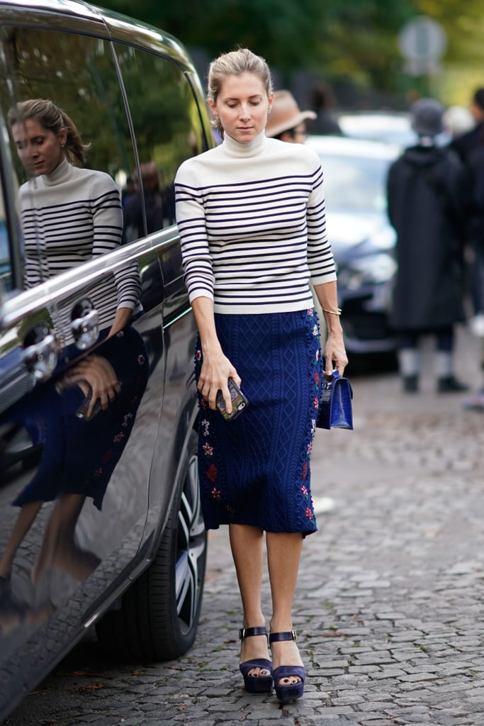 Add a Nautical Touch With a Striped Sweater