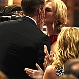 Nicole Kidman Kissing Alexander Skarsgård at the 2017 Emmys