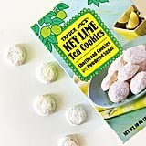 Key Lime Tea Cookies