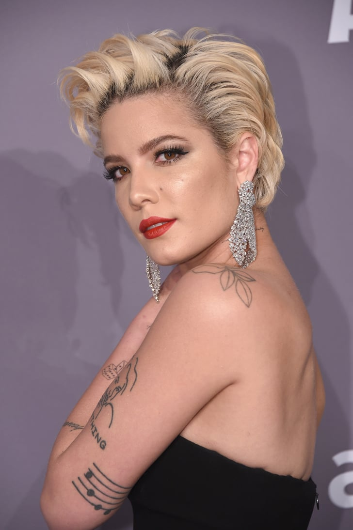 Halsey With Blond Hair Halsey Black Hair April 2019 Popsugar Beauty Photo 8